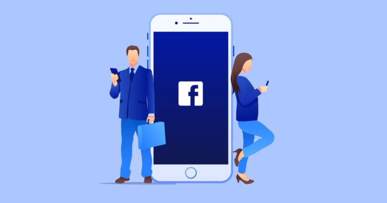 Imagen referencial a los negocios en Facebook