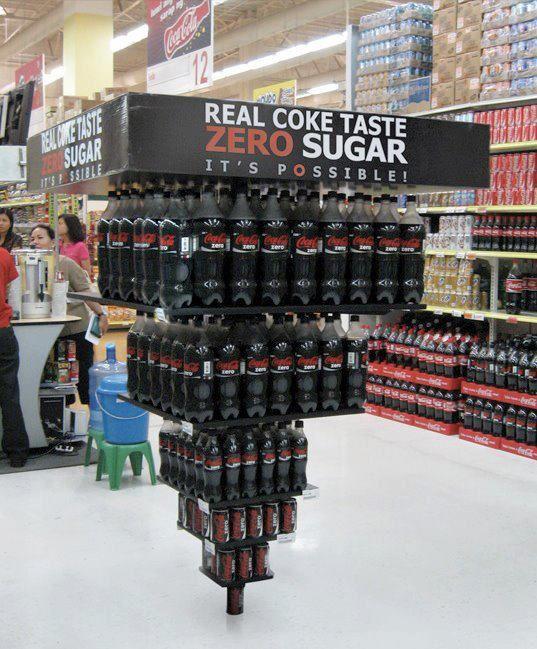 Merchandising de Coca - Cola Zero ¿cuál es el merchandising de Coca  Cola?