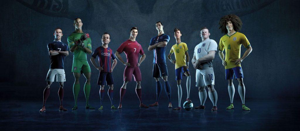 Publicidad animada de Nike