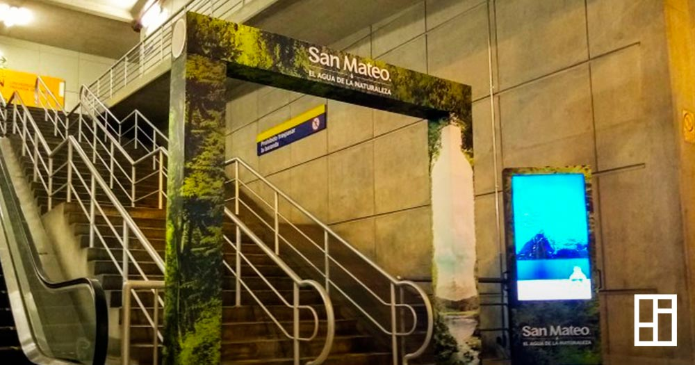 San Mateo, publicidad indoor y outdoor