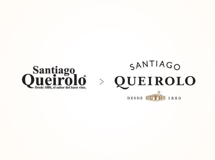 agencias de branding en Perú crea el logo de la marca de vino Santiago Queirolo
