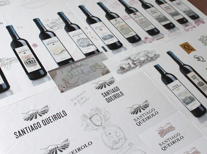 mejores agencias de branding en Perú diseñan logotipo de marca de vinos Santiago Queirolo