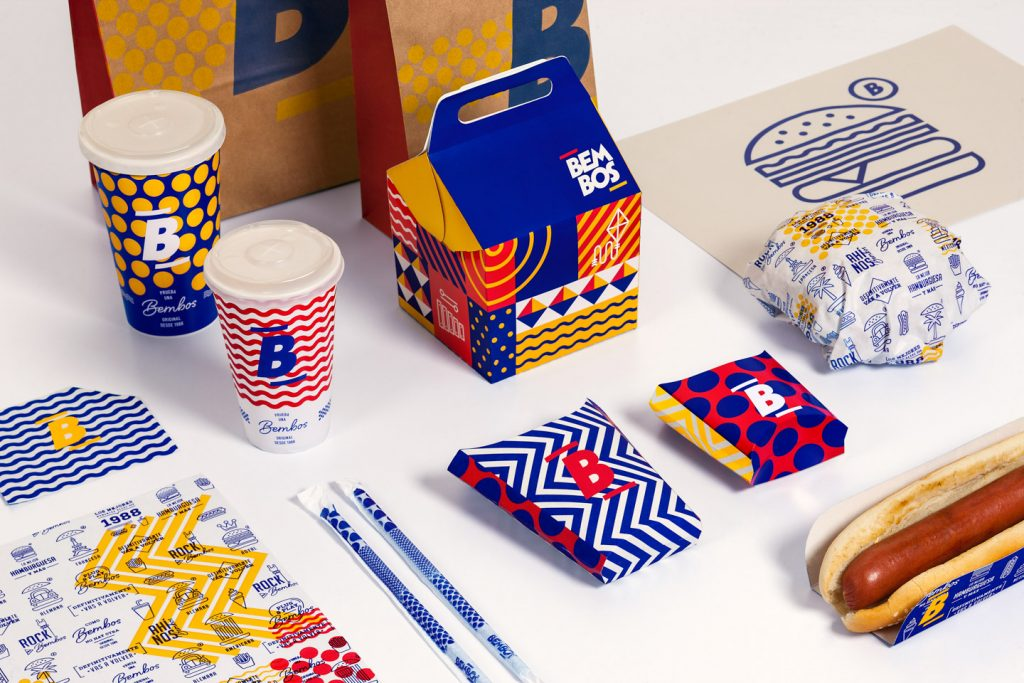 Agencias de branding en Perú - Bembos logotipo y empaque