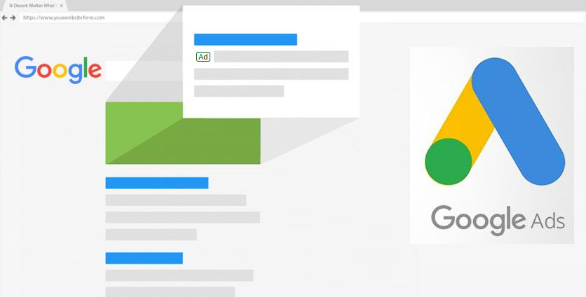 imagen alusiva a los servicios de Google Ads