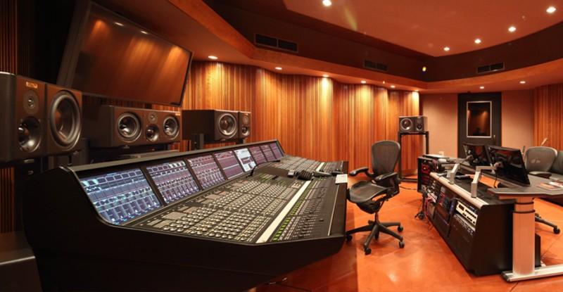 contratar un estudio de grabación