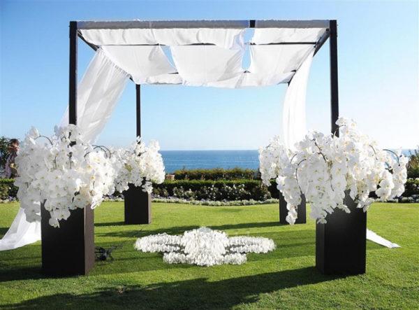 estilo minimalista en bodas