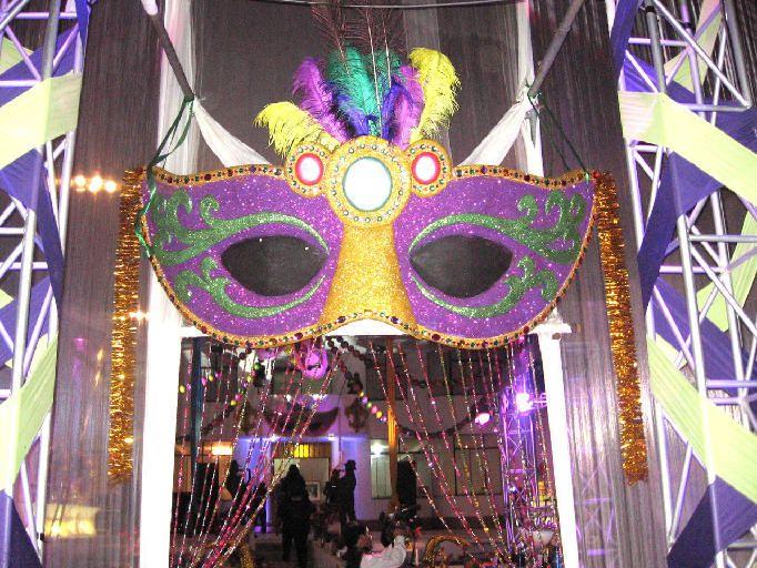 decoración en fiesta temática