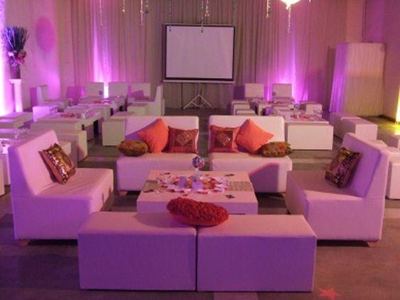 mobiliario para celebración de eventos