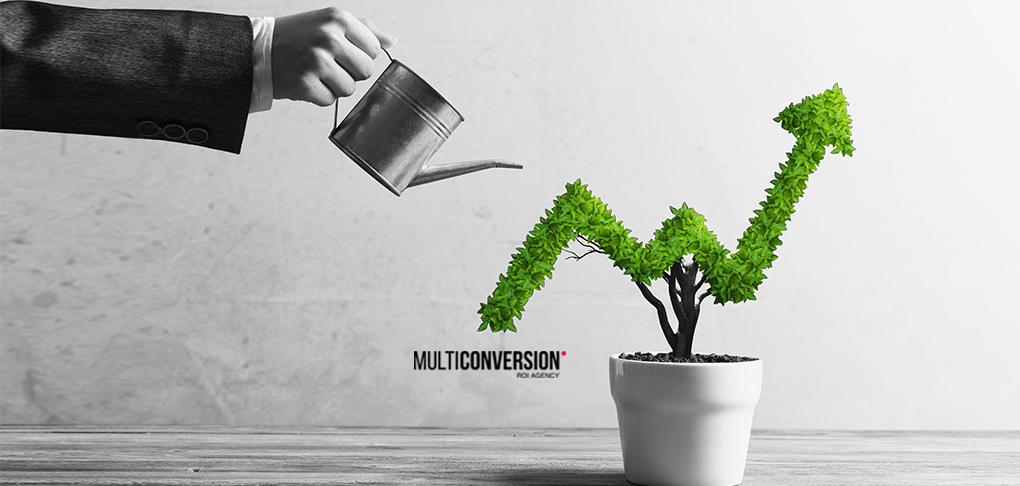 Imagen alusiva al crecimiento de una empresa cuando aplica servicios de ecomarketing