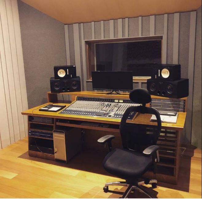 Salón al contratar un estudio de grabación