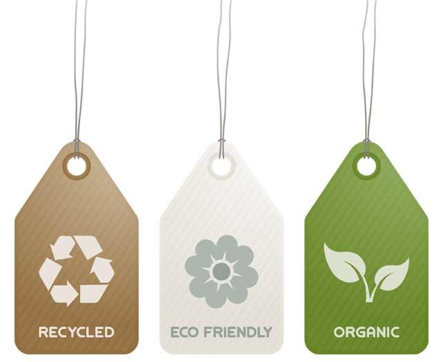 Etiquetas de marcas sustentables