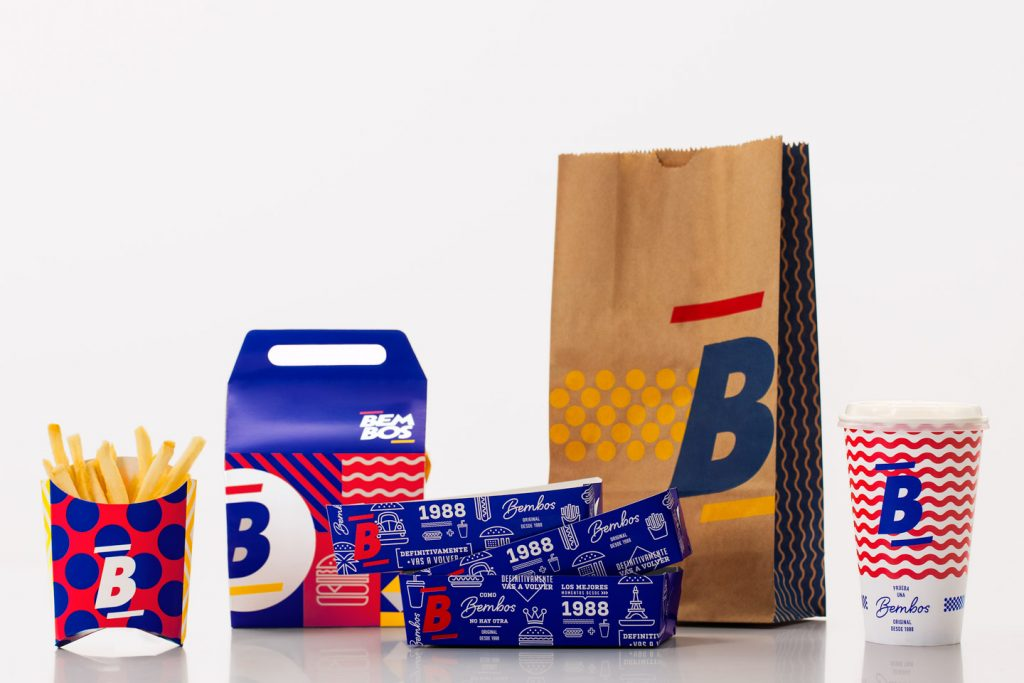 servicios de packaging Bembos