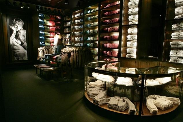 presentación de una tienda de ropa