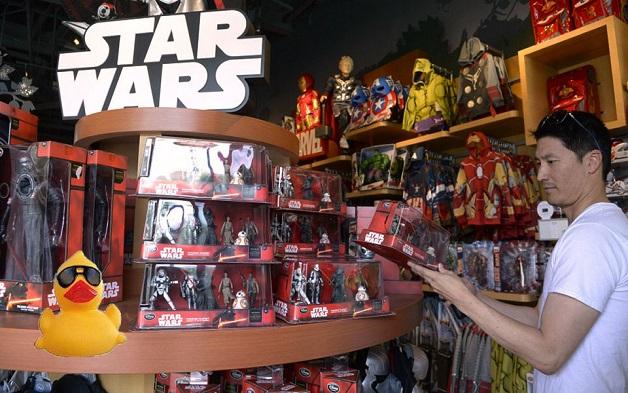 Star Wars merchandising ejemplos