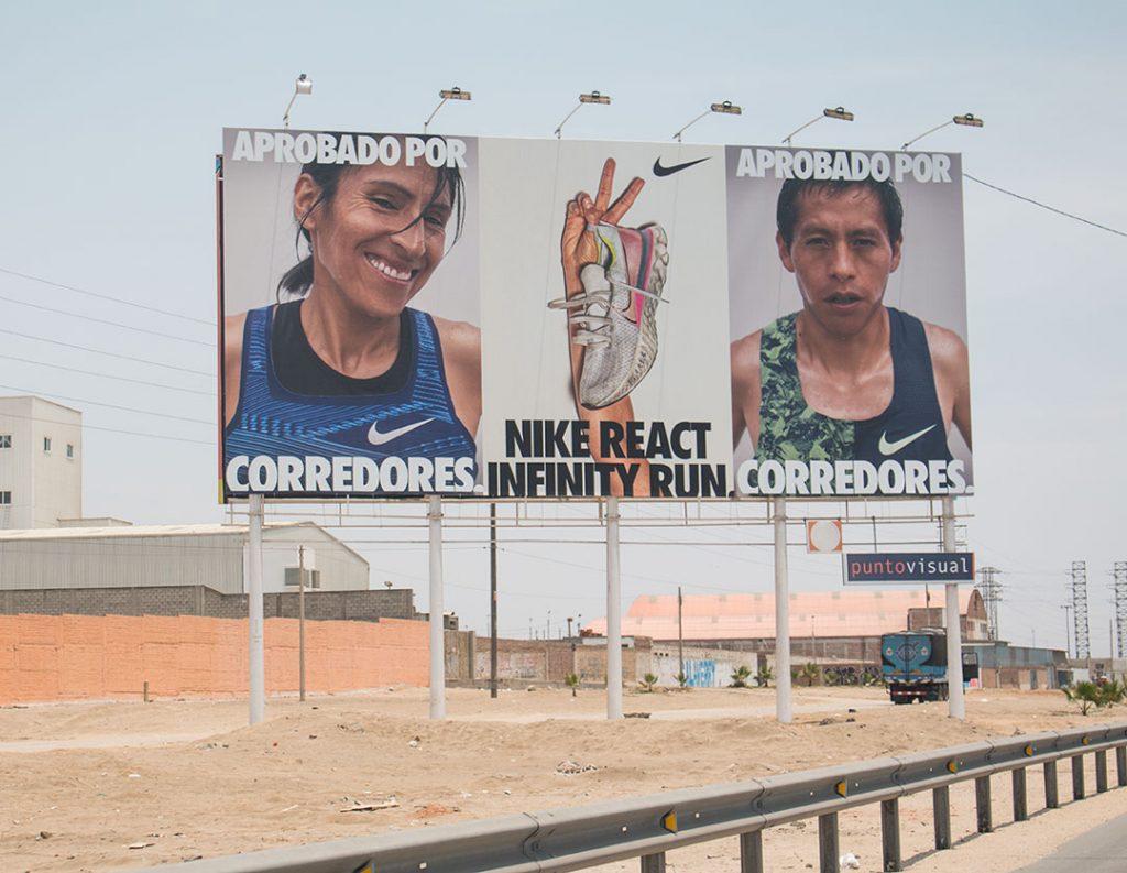 Publicidad exterior en las carreteras del Perú