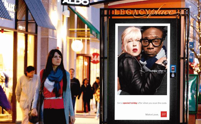 Publicidad DOOH en las calles de Madrid
