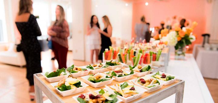 Platillos en Catering para bodas