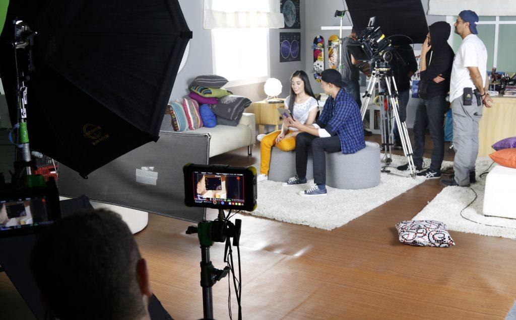 Casa Realizadora haciendo una publicidad para televisión