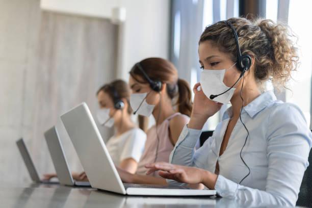 Personal de call center en la actualidad